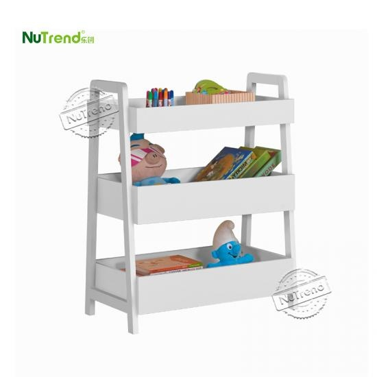 Wood Toy Storage Shelf Kids furniture factory in china