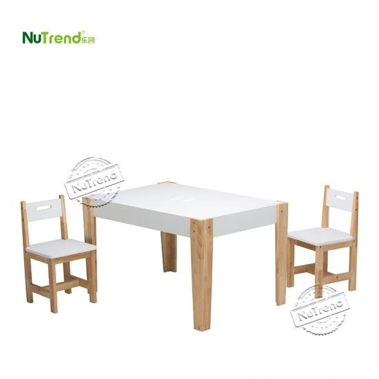Wood Kids Table and Chairs furniture factory in china