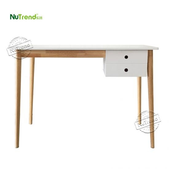 Mid Century DIY Wood writing desk table manufacturer in China