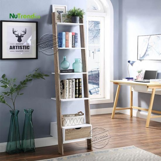 Wooden Bookshelf Bookcase Furniture Factory China