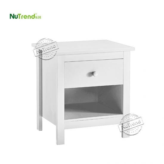 wholesale Wood Side Table With Shelf  Furniture factory Supplier