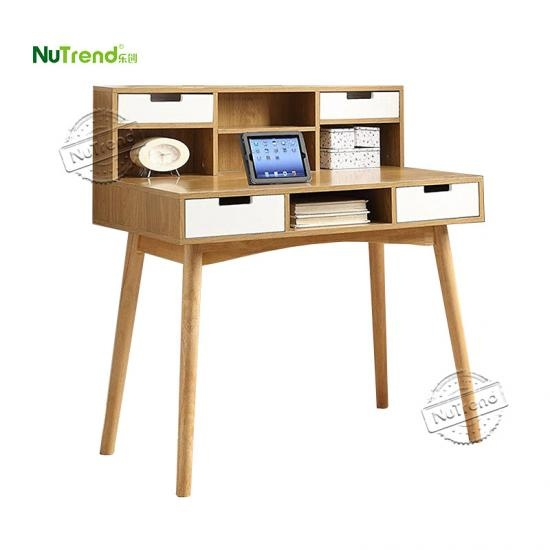 Custom  Writing Desk Furniture With Hutch in China Factory