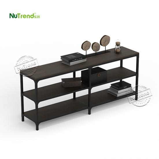 modern  long wood hall console table  factory Supplier