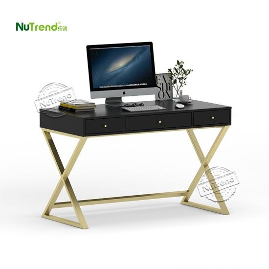 wholesale ready assembled contemporary modern home office work station desk Supplier China